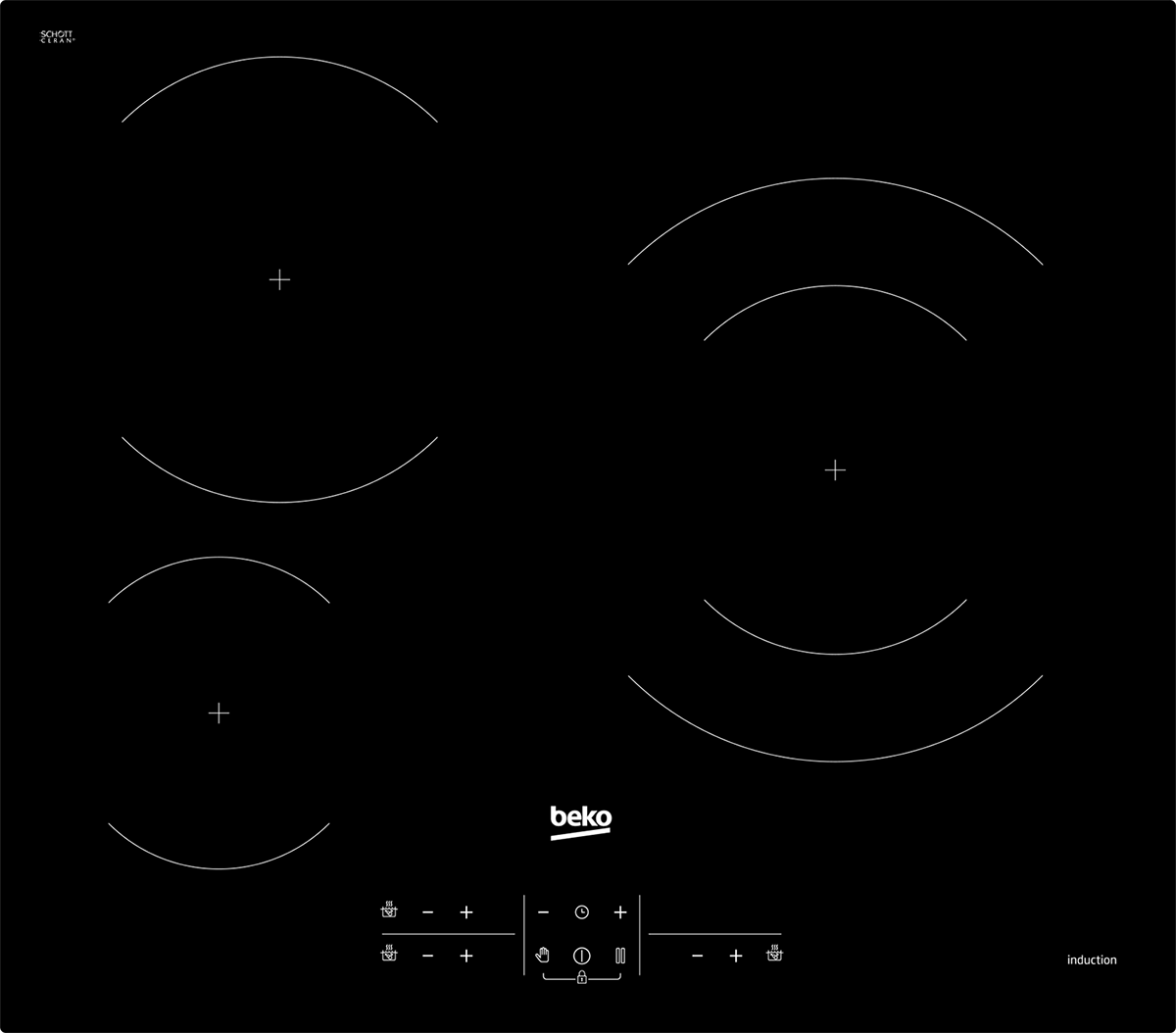 Table Induction Beko Hiis63205