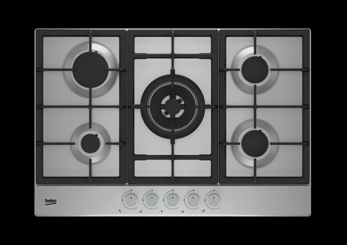 Table de cuisson encastrable HAW752C5SX Beko