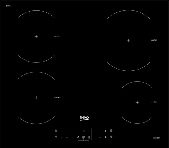 Table de cuisson encastrable HII64200AT Beko