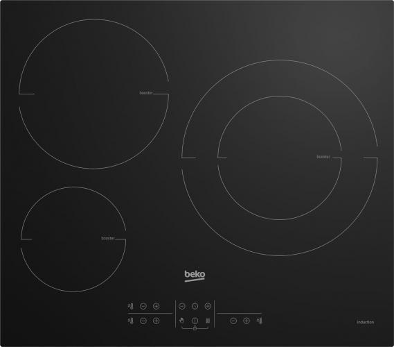 Table de cuisson encastrable HIIS63206M Beko