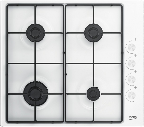 Plaque de cuisson gaz HIZG64120SW Beko