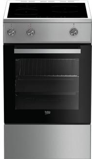 Cuisinière induction FSE58100XC Beko