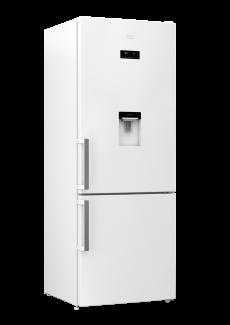 Réfrigérateur combiné RCNE520E31DW Beko