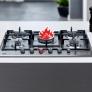 Plaque de cuisson gaz Allumage intégré