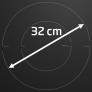 Table de cuisson encastrable Zone de 32 cm