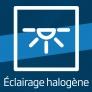 Four compact encastrable Eclairage halogène