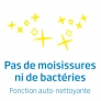 Climatiseur fixe mono-split Fonction Auto-nettoyante