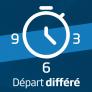 Lave-vaisselle intégrable 60 cm Départ différé 3-6-9 heures