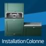 Lave-vaisselle intégrable 60 cm Installation en colonne