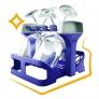 Lave-vaisselle pose libre Support spécial verres