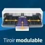 Lave-vaisselle pose libre Tiroir à couverts pleine largeur flexible