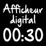 Sèche-linge Afficheur digital