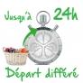 Sèche-linge Départ différé 0-24 heures