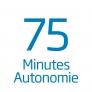 Aspirateur balai sans sac Autonomie 75 min