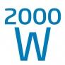 Radiateur bain d'huile Puissance 2 000 W