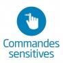 Hotte décorative Commandes sensitives