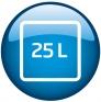 Micro-ondes et grill encastrable 25L