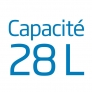 Micro ondes combiné Capacité 28L