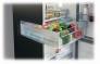 Réfrigérateur combiné Bac à légumes sur rails