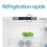 Réfrigérateur / Congélateur encastrable Fonction réfrigération rapide