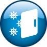 Réfrigérateur 2 portes Joints antibactériens