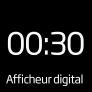 Soin du linge Afficheur digital 19h