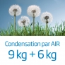 Lavante-séchante Condensation par air 9+6kg