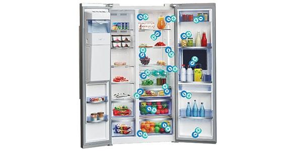 Fini les odeurs, un réfrigérateur sain !