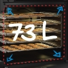 Cuisinière gaz FSG62010FX Beko