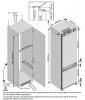 Réfrigérateur / Congélateur encastrable BCHA306E3SN Beko