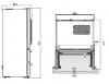 Réfrigérateur 4 portes BGN6539XP Beko