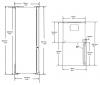 Réfrigérateur combiné BRCNE450K20DPX Beko