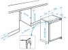 Réfrigérateur / Congélateur encastrable BU1153HCN Beko