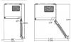 Réfrigérateur combiné CN161230DX Beko