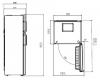 Réfrigérateur 2 portes CRDSE437K21S Beko