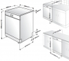 Lave-vaisselle pose libre DF18DN44S Beko