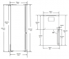 Réfrigérateur combiné RCNE520E20DZXP Beko