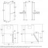 Réfrigérateur combiné RCSA365K20W Beko
