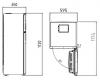 Réfrigerateur RDNE350K20W Beko
