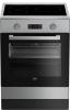 Cuisinière induction FSE68300GXPS Beko