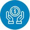 Lave linge AutoDose picto symbolisant l'aspect économe