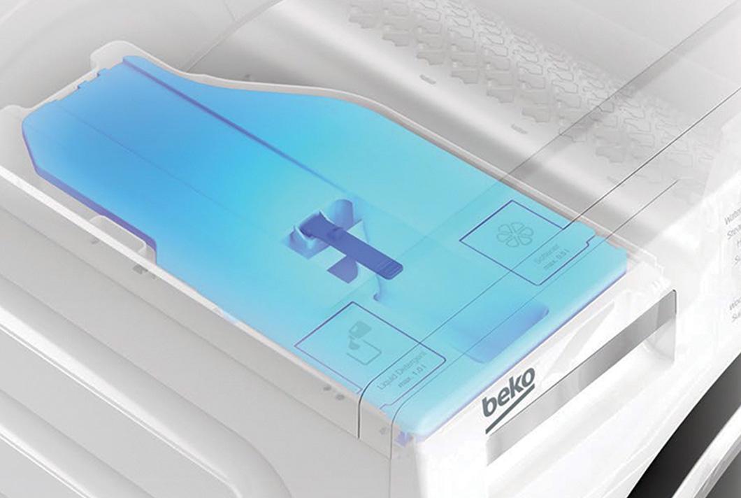 Comment fonctionne le système de dosage automatique de la lessive - Autodose | Beko