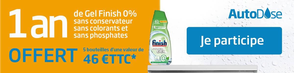 Offre Finish Lave vaisselle AutoDose