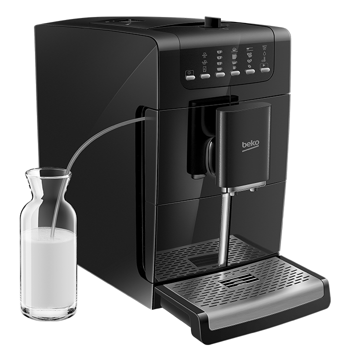 Machine caf expresso avec broyeur automatique beko france - Machine a cafe avec broyeur integre ...