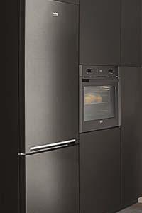 réfrigérateur Beko Dark Inox