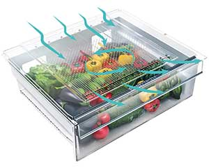 Everfresh frigo pour fruits et legumes
