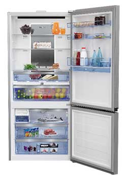 grand frigo pas large