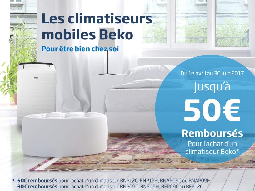 offre promotionnelle climatiseurs mobiles beko france. Black Bedroom Furniture Sets. Home Design Ideas