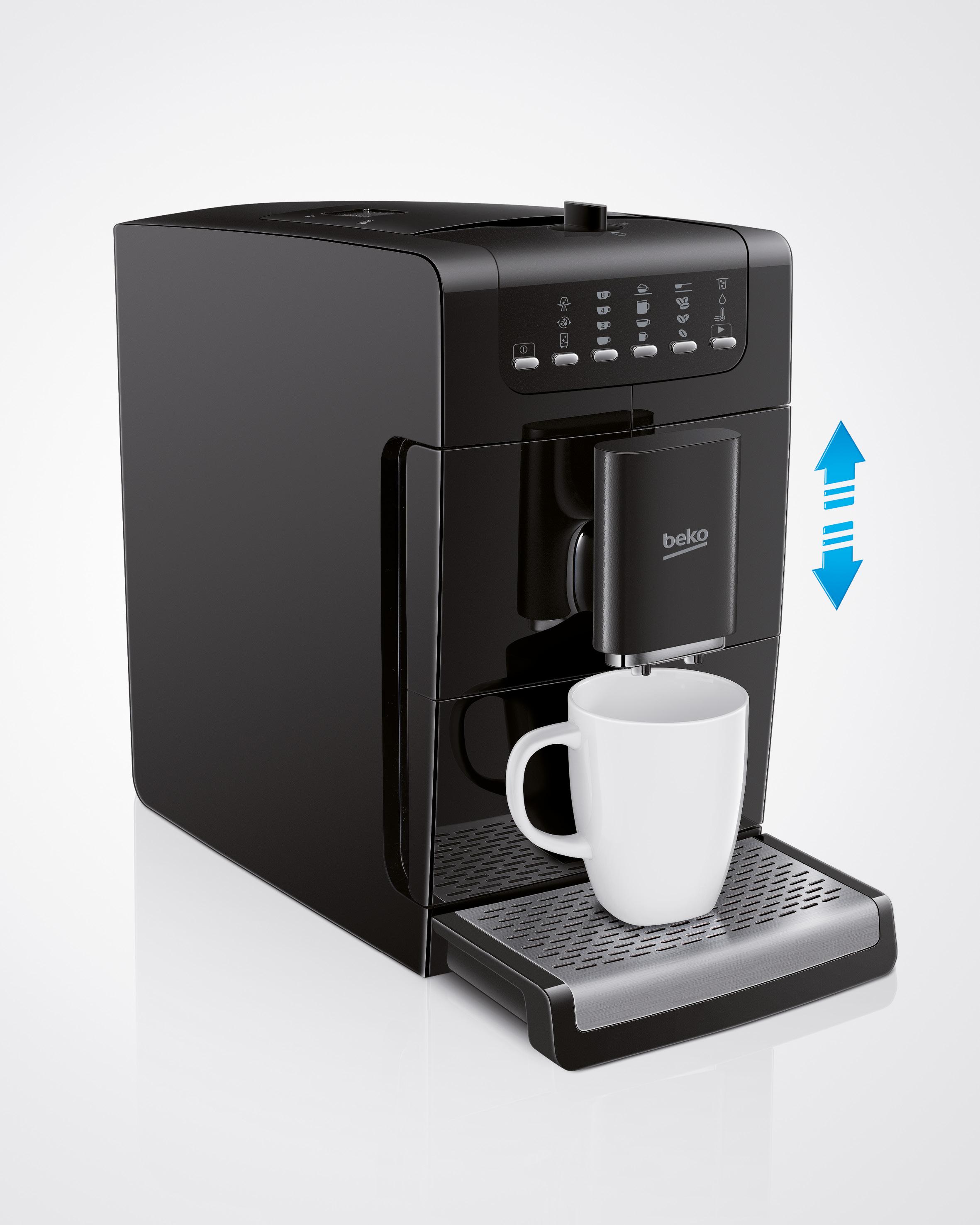 machine caf expresso avec broyeur automatique beko france. Black Bedroom Furniture Sets. Home Design Ideas